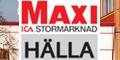 Ica Maxi Hälla – Button